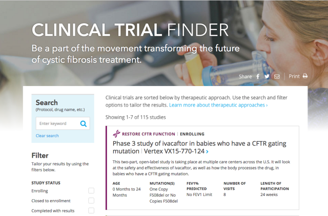 Improving Clinical Trial Search Cydney Luong Ux Designer